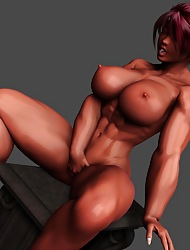 Nude Ladies Thither 3D