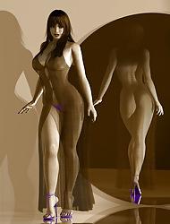 3d Hatless Girls