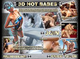 3D Hot Babes